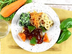 ぶりと野菜のあんかけナッシュ(nosh)